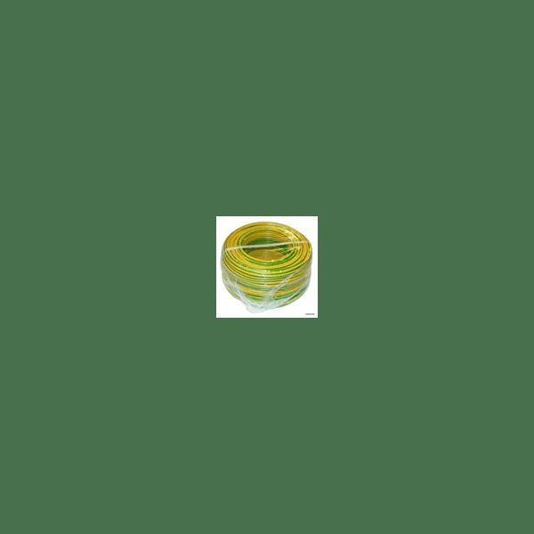 Fil rigide 6mm² vert/jaune...
