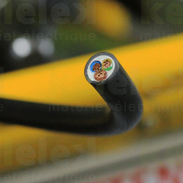 Câble électrique rigide...