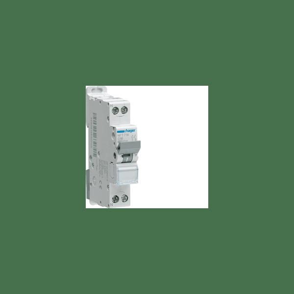 Disjoncteur 1P+N 4.5/6kA...